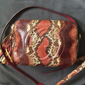 Gucci python soho disco bag authentic